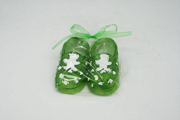 Yeşil Patik Mum